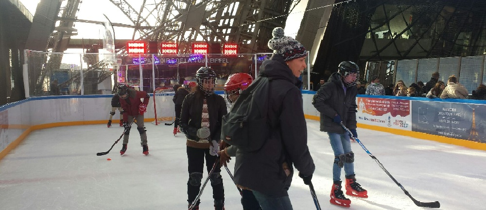 Patinoire Tour Eiffel - Dec 2016